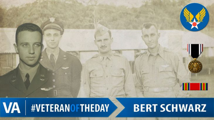 Bert Schwarz - Veteran of the Day