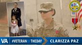 Clarizza Paz - Veteran of the Day
