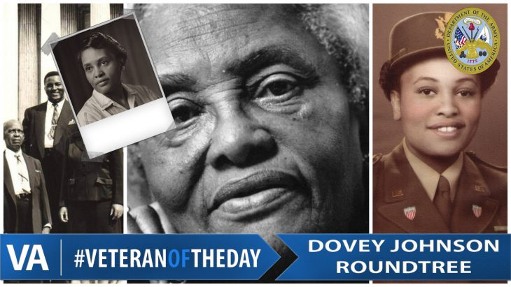 Dovey Johnson - Veteran of the Day