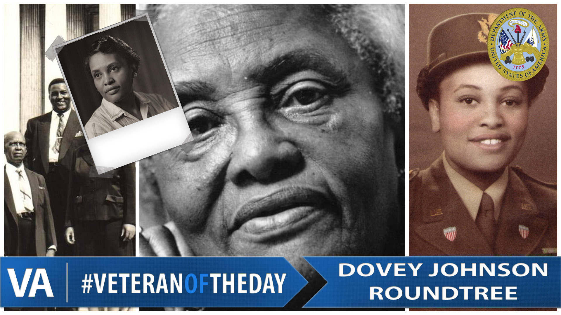 8e73946c85 VeteranOfTheDay Army Veteran Dovey Johnson Roundtree - VAntage Point