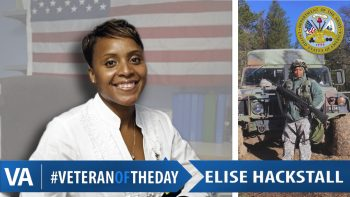 Elise Hackstall - Veteran of the Day
