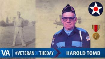 Harold Tomb - Veteran of the Day