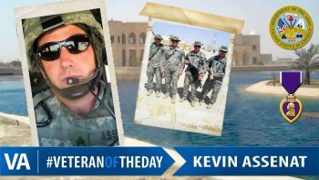 Kevin Assenat - Veteran of the Day