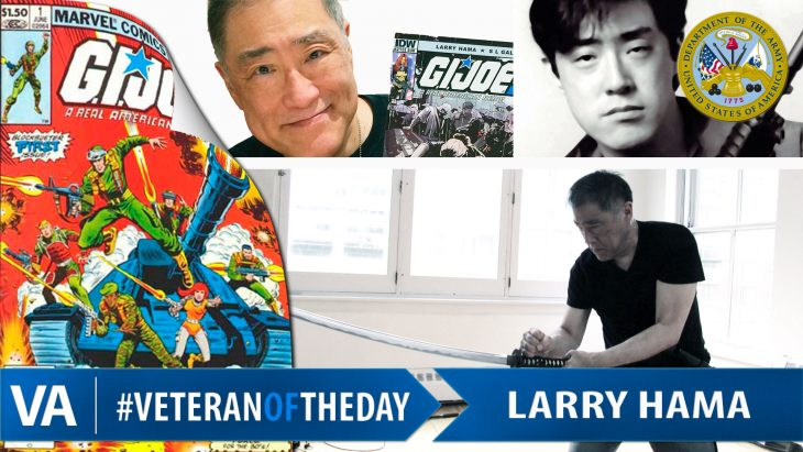 Larry Hama - Veteran of the Day