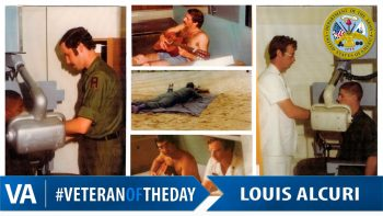 Louis Alcuri - Veteran of the Day