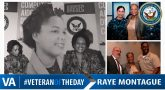 Raye Montague - Veteran of the Day