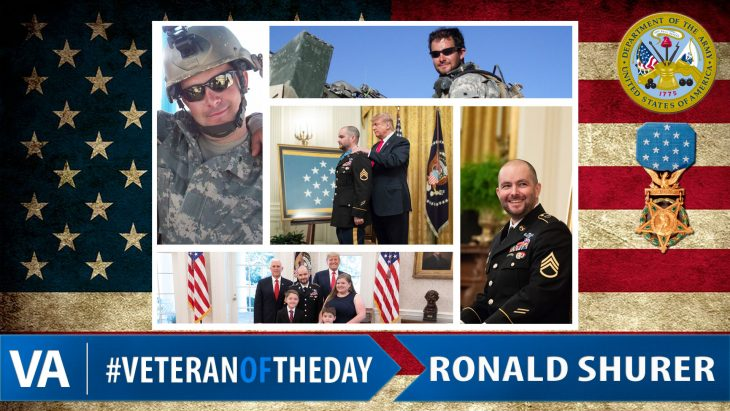 Ronald Shurer - Veteran of the Day