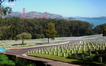 photograph of San Francisco National Cemetery