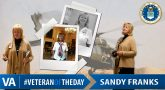 Sandy Franks - Veteran of the Day