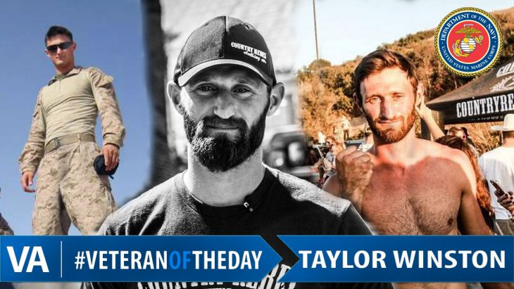 Taylor Winston - Veteran of the Day