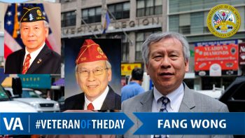 Fang Wong - Veteran of the Day