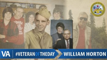William Horton - Veteran of the Day