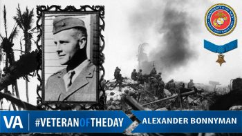 Alexander Bonnyman - Veteran of the Day