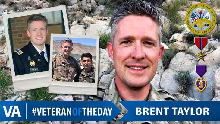 Brent Taylor - Veteran of the Day
