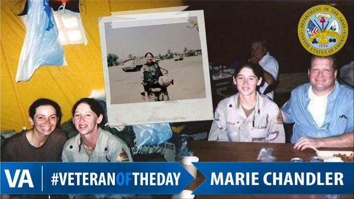 Marie Chandler - Veteran of the Day