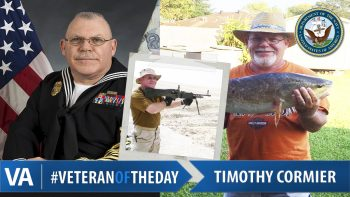 Timothy Cormier - Veteran of the Day