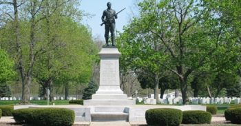 IMAGE: Monument at Danville National Cemetery, IL
