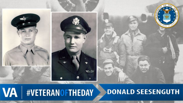 Donald Seesenguth - Veteran of the Day