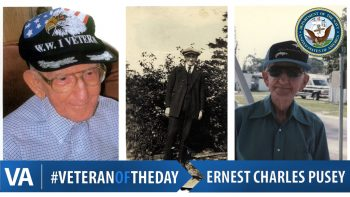 Ernest Pusey - Veteran of the Day