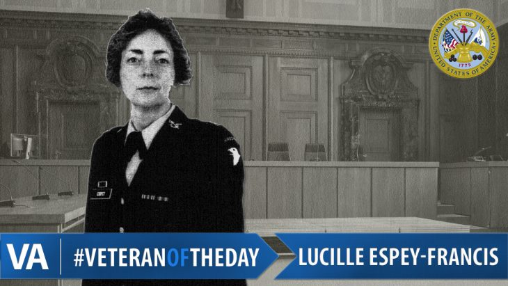 Lucille M. Espey-Francis - Veteran of the Day
