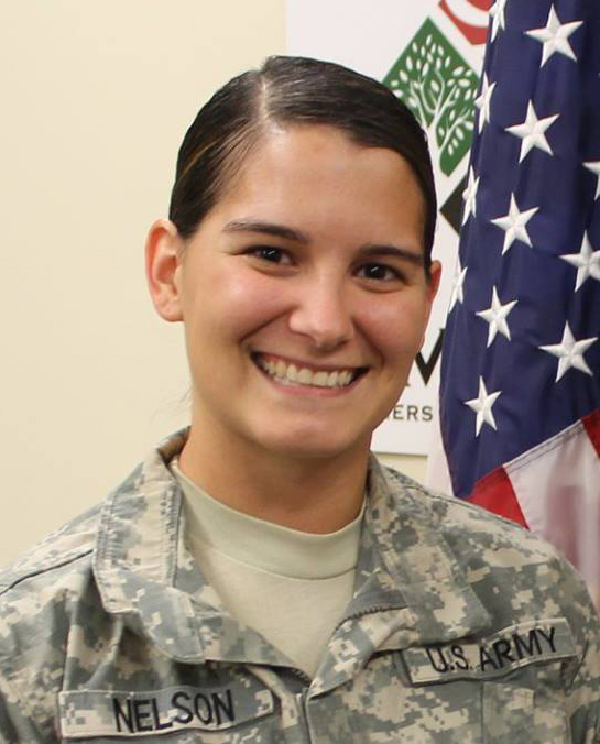 Hope Nelson was a captain with the US Army Military Police and is now a public affairs specialist at the Lexington VA Medical Center.