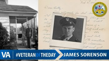 James Sorenson - Veteran of the Day