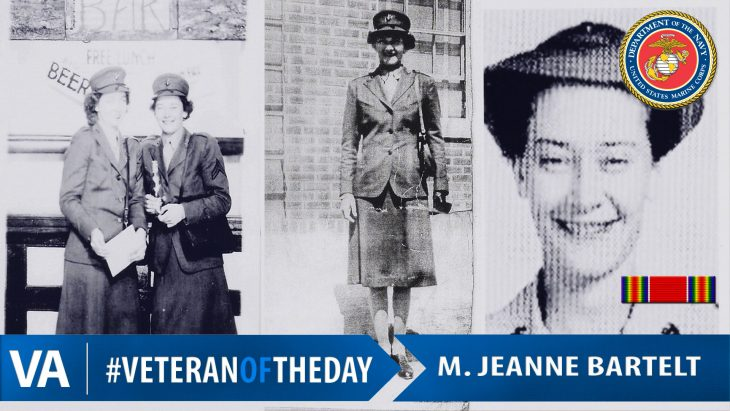 Jeanne Bartelt - Veteran of the Day