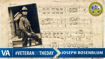 Joseph Rosenblum - Veteran of the Day