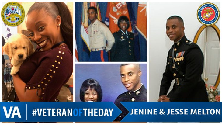 Janine and Jesse Melton - Veteran of the Day
