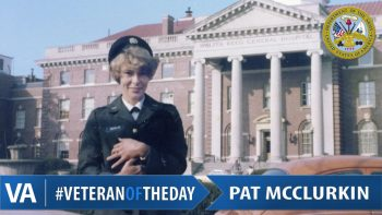 Pat McClurkin - Veteran of the Day