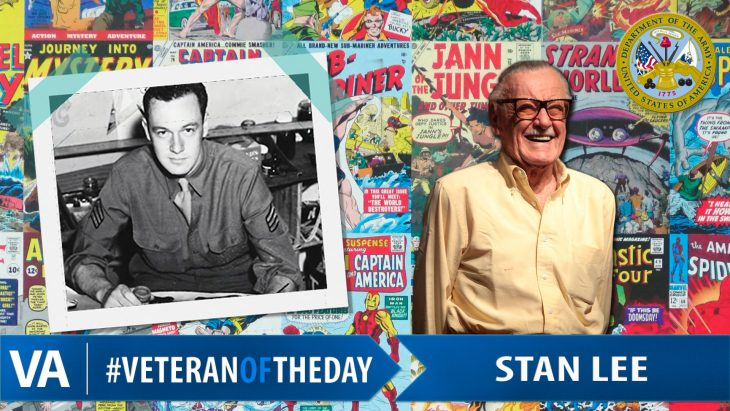 Stan Lee - Veteran of the Day