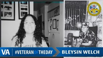 Bleysin Welch - Veteran of the Day