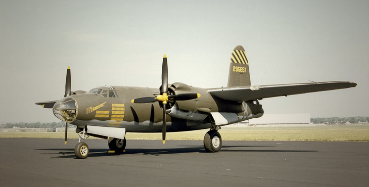 Photograph of B-26 Marauder (U.S. Air Force photo)
