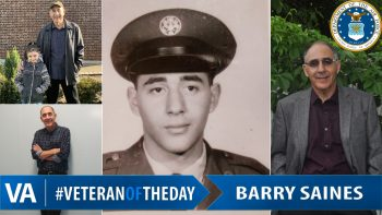 Barry Saines - Veteran of the Day