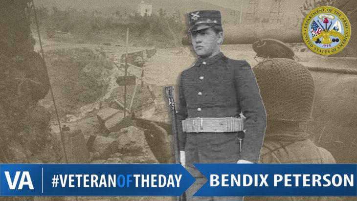 Bendix Peterson - Veteran of the Day