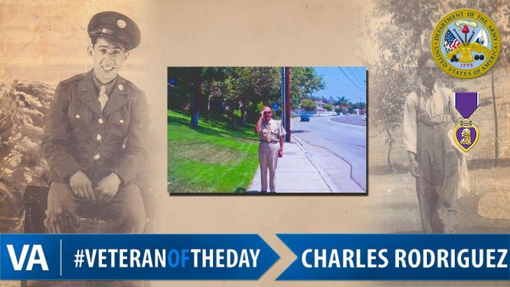 Charles Rodriguez - Veteran of the Day