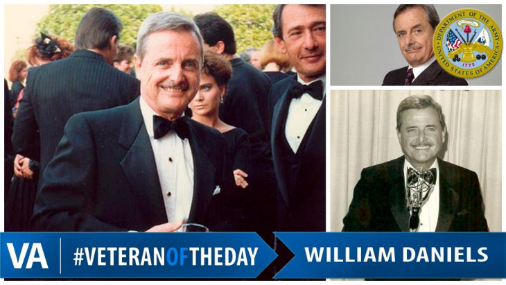 William Daniels - Veteran of the Day