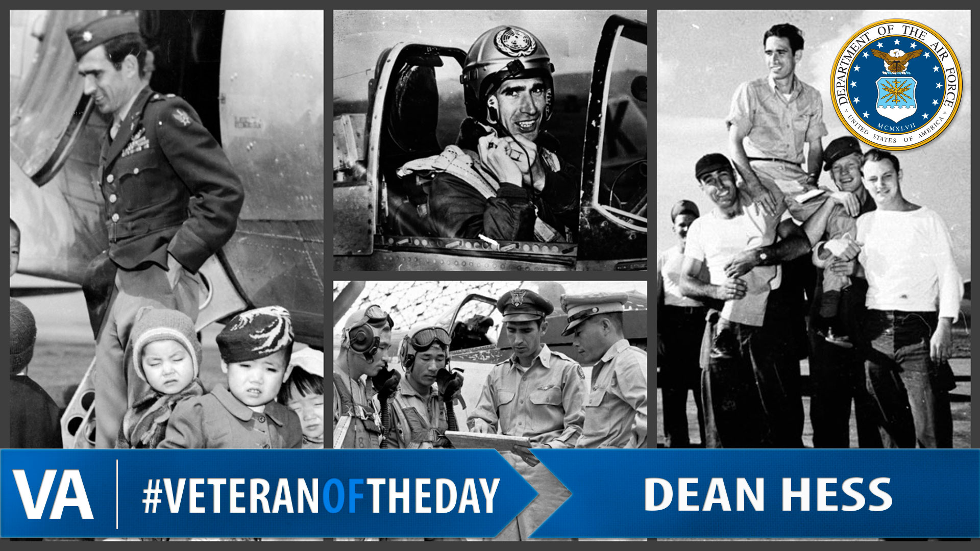 veteranoftheday air force veteran dean hess vantage point