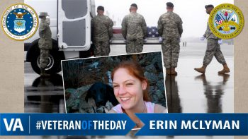 Erin McLyman - Veteran of the Day