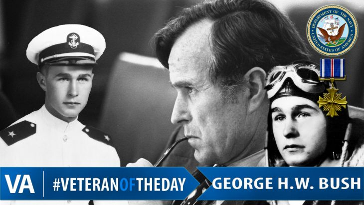 George H. W. Bush - Veteran of the Day