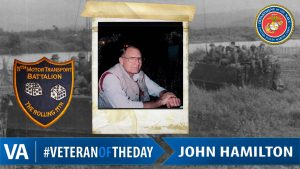 John Hamilton - Veteran of the Day