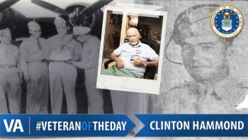 Clinton Hammond - Veteran of the Day