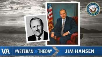 Jim Hansen - Veteran of the Day