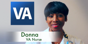 A picture of VA Nurse Donna