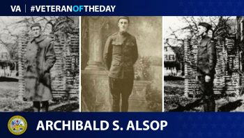 Archibald Alsop - Veteran of the Day