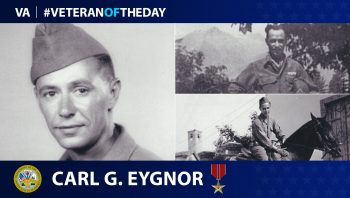 Carl Eygnor - Veteran of the Day