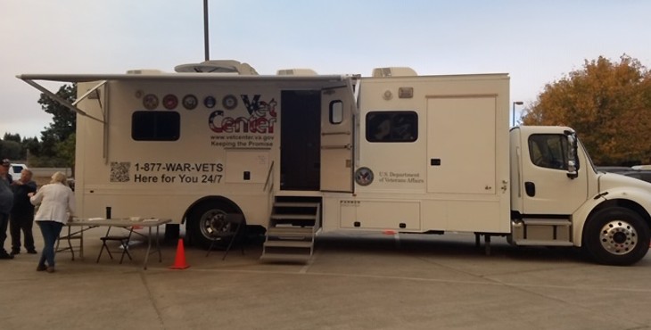Picture of a Mobile Vet Center
