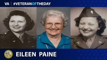 Eileen Paine - Veteran of the Day