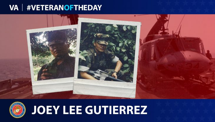 Joey Gutierrez - Veteran of the Day