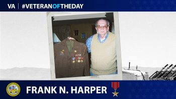 Frank Harper - Veteran of the Day